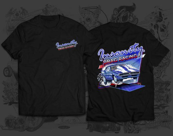 drag racing tshirt