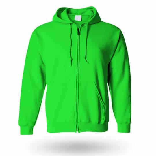 kelly green custom hoodie