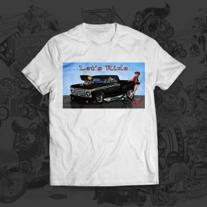 lets ride - mark arnold tshirt