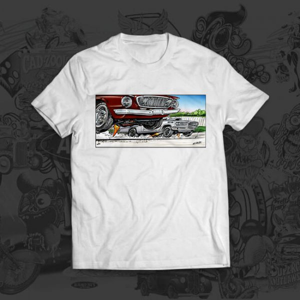 max wedge ponch Mark Ervin tshirt