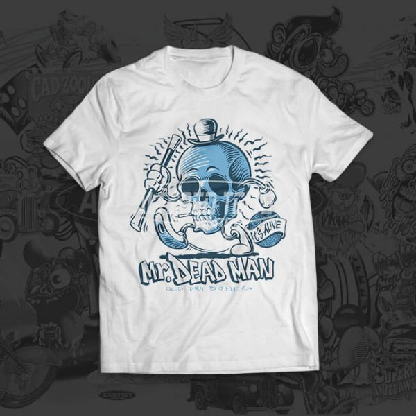 mr dead uk t-shirt