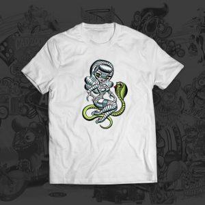 mummy snake woman - Mitch Oconnell - tshirt