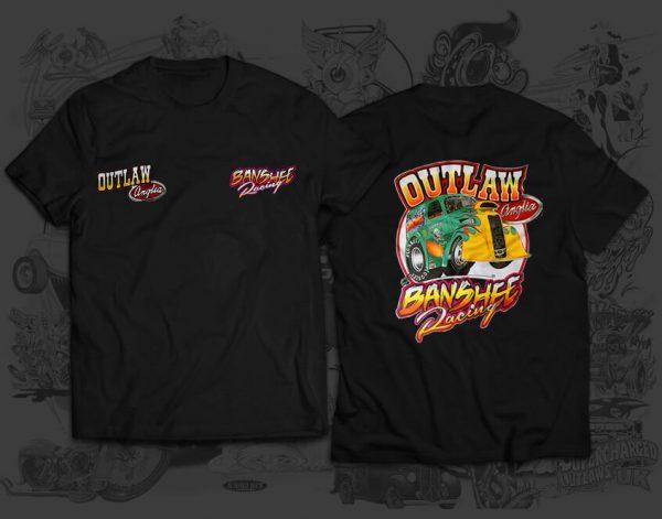 outlaw banshee tshirt