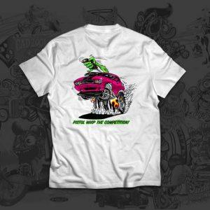 pistol whip pink - john skidmore - tshirt