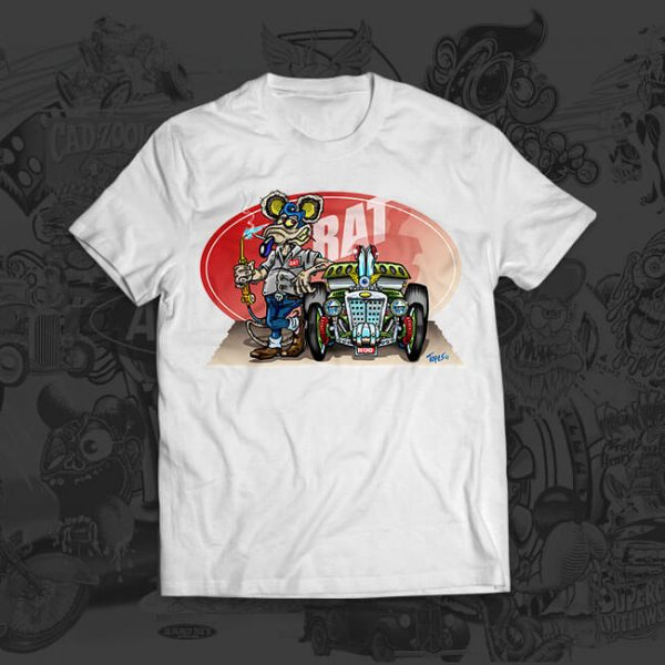rat n rod - mark thompson - tshirt