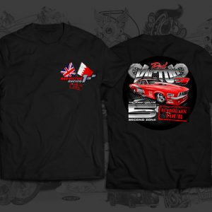 red victor race team tshirt