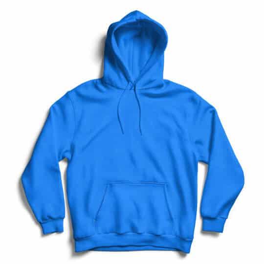 sapphire blue hoodie