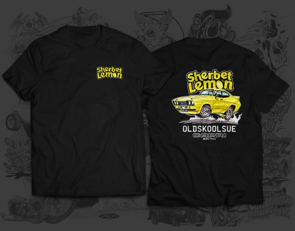 sherbet lemon race team tshirt