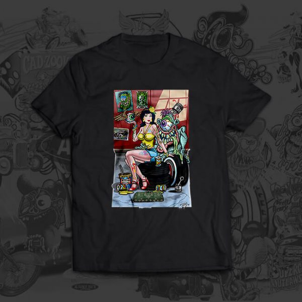 shop girl - mark thompson - tshirt