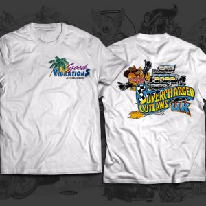 supercharged outlaws race team tshirt
