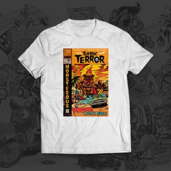 terror attack - mark thompson - tshirt