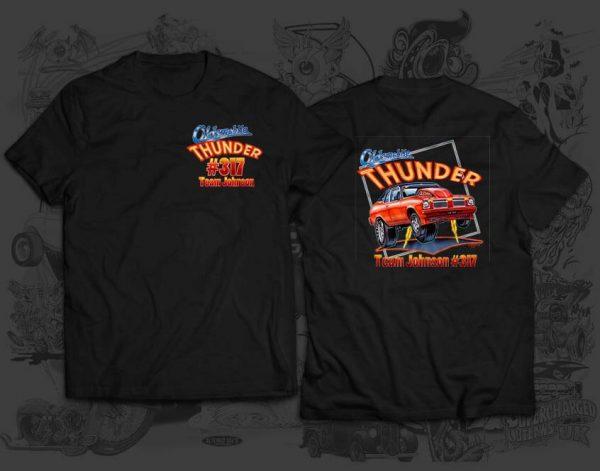 thunder tshirt
