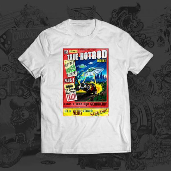 true hotrod - mark thompson - tshirt