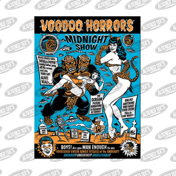 voodoo horrors - Mitch Oconnell