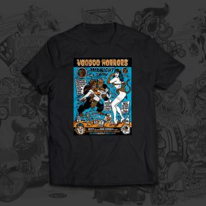 voodoo horrors - Mitch Oconnell - tshirt