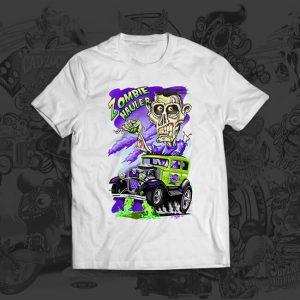 zombie hauler mark thompson tshirt